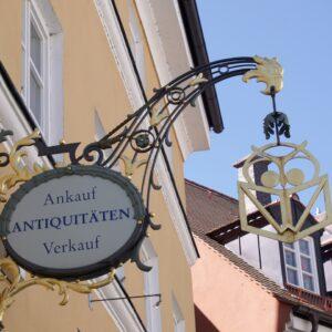 antique art, sign, store