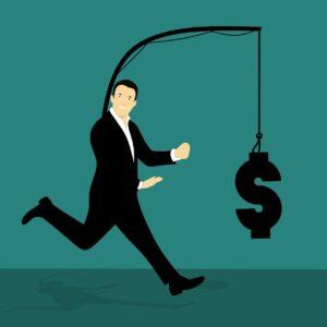 chasing, money, run
