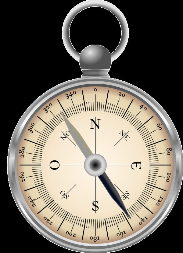 compass, directions, north