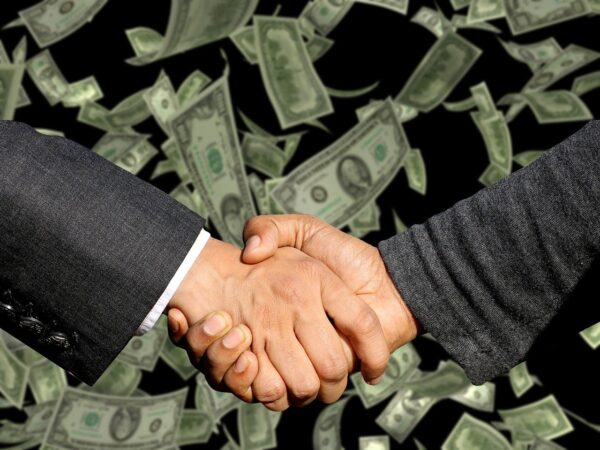 conclusion of the contract, handshake, trade
