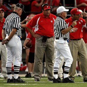 high school football, confrontation, football coach