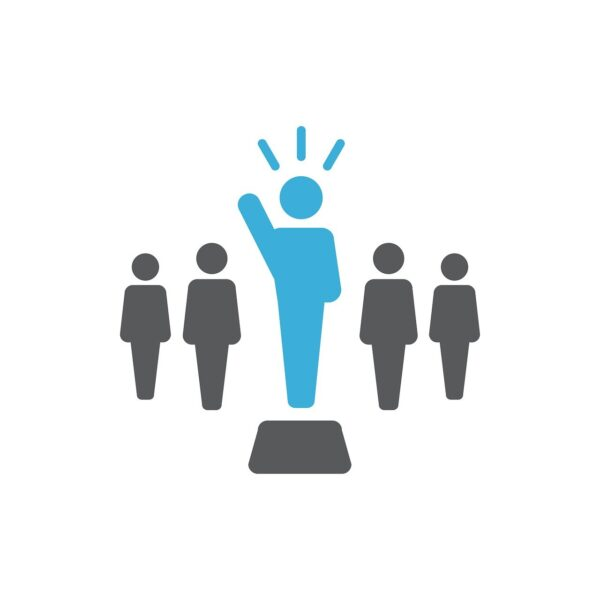 icon, leader, leadership