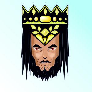king, crown, lord