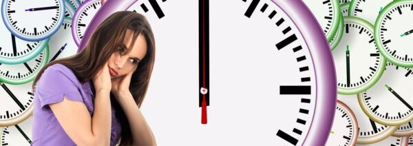 time, woman, face